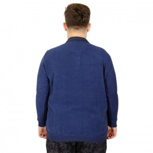 Büyük Beden Sweatshirt Westiges Of The Last 20414 Indigo