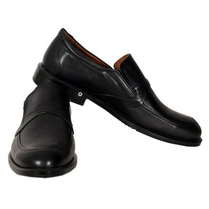 Men's Leather Shoes 19303 Black