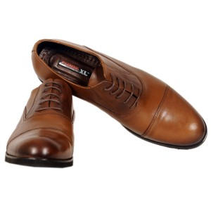 Men's Classic Lace-up Leather Lace 19330 Tan