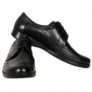 Men's Leather Shoes 19335 Black