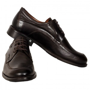 Men's Leather Shoes 19338 Brown