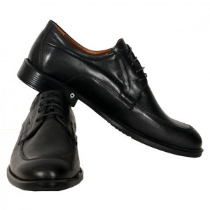 Men's Leather Shoes 19338 Black