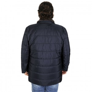 Big-Tall Men s Coat 193993 Navy Blue