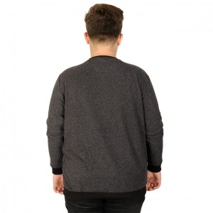 Big Tall Men s Sweatshirt 20136 Black