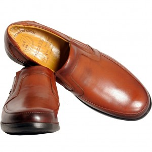 Big-Tall Men s Leather Shoes 2306 Ginger