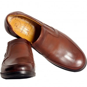 Big-Tall Men s Leather Shoes 2306 Brown