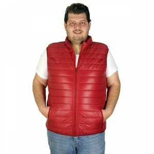 Big-Tall Men s Vest Thin Seasonal 19524 Saxe